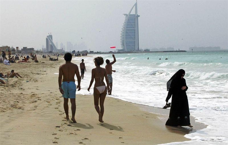 Как одеваться на пляже ОАЭ
