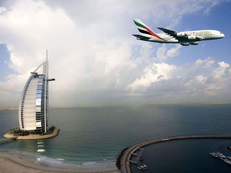 Прилет в ОАЭ