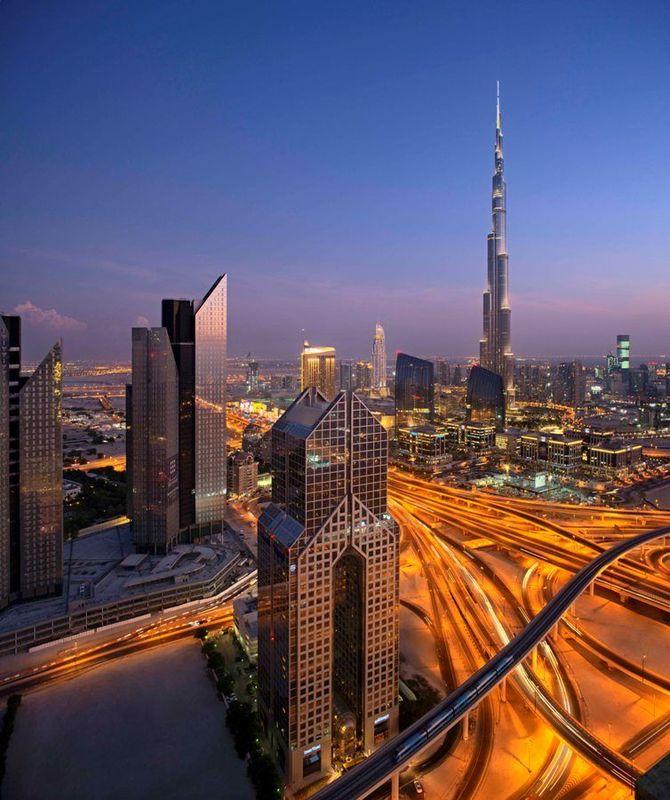 Сложные развязки в Дубае