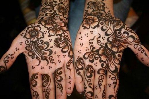 Временные татуировки в ОАЭ