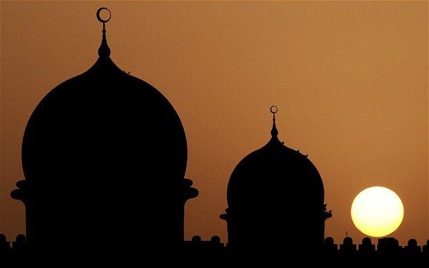 Купола мечети в ОАЭ