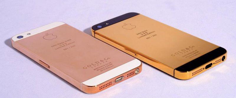 В ОАЭ можно купить золотой iPhone