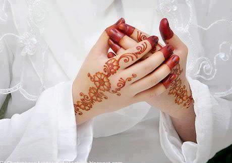 Свадебная роспись хной в Эмиратах