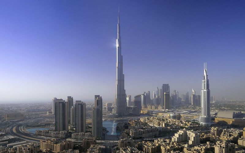 Даунтаун Дубай и Burj Khalifa
