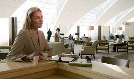 Зал ожидания для пассажиров 1 класса Emirates в Дубае