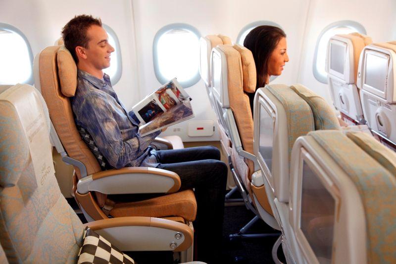 Экономический класс Etihad Airways