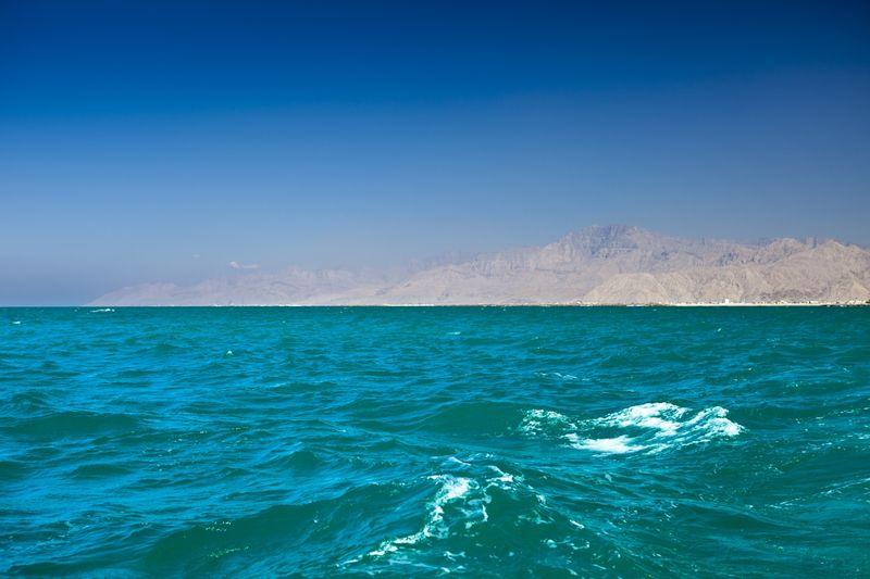 Рас Аль Хайма - вид с моря