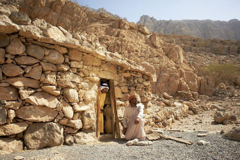 В горах Рас Аль Хаймы