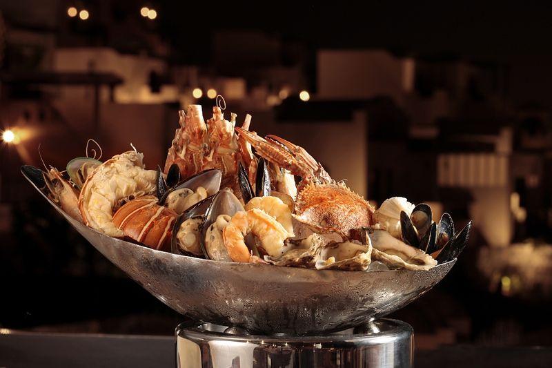 Морепродукты - популярная еда в ОАЭ