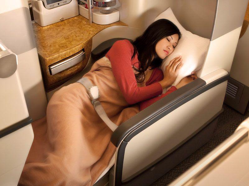 Комфорт бизнес-класса авиакомпании Emirates