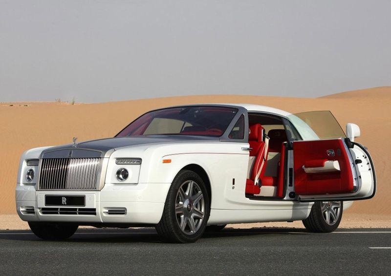В Эмиратах можно арендовать самые эксклюзивные авто